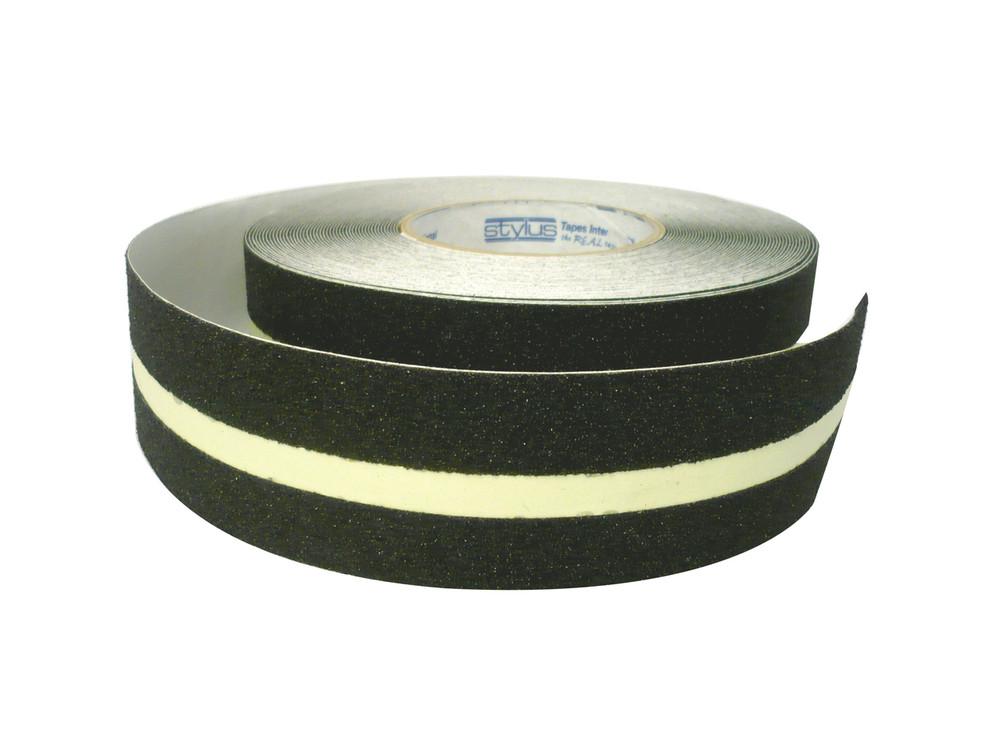 50mm Anti-Slip Tape 18 metres BLACK/LUMINOUS