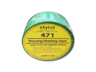 48mm 471 Floor Marking Tape 33mtr roll GREEN
