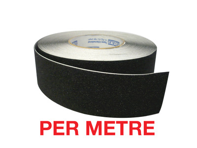 50mm Anti-Slip Tape BLACK - PER METRE