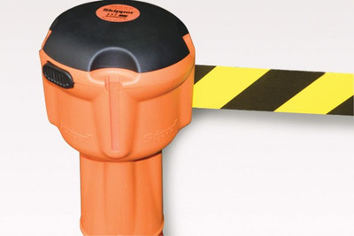 SKIPPER 9m retractable barrier - BLACK/YELLOW