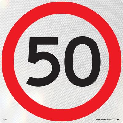50- 600x600 Corflute HI-INT BLK/RED/WHT