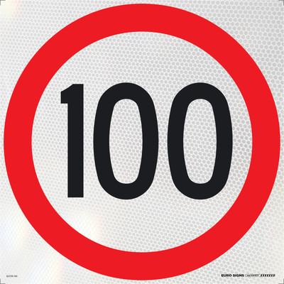 100- 600x600 Corflute HI-INT BLK/RED/WHT