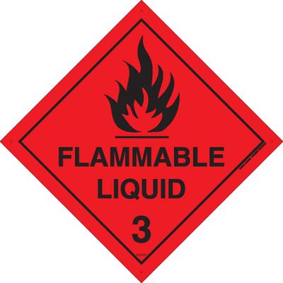 Class Label FLAMMABLE LIQUID 3 270x270 MTL