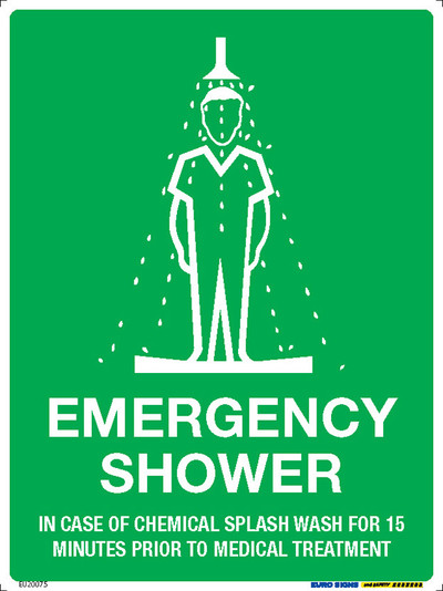 EMERGENCY SHOWER 225x300 POLY