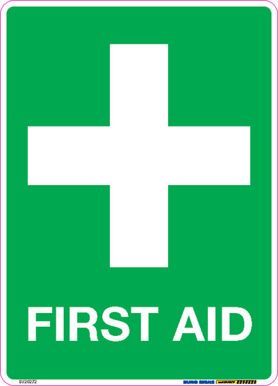 FIRST AID 180x250 DECAL