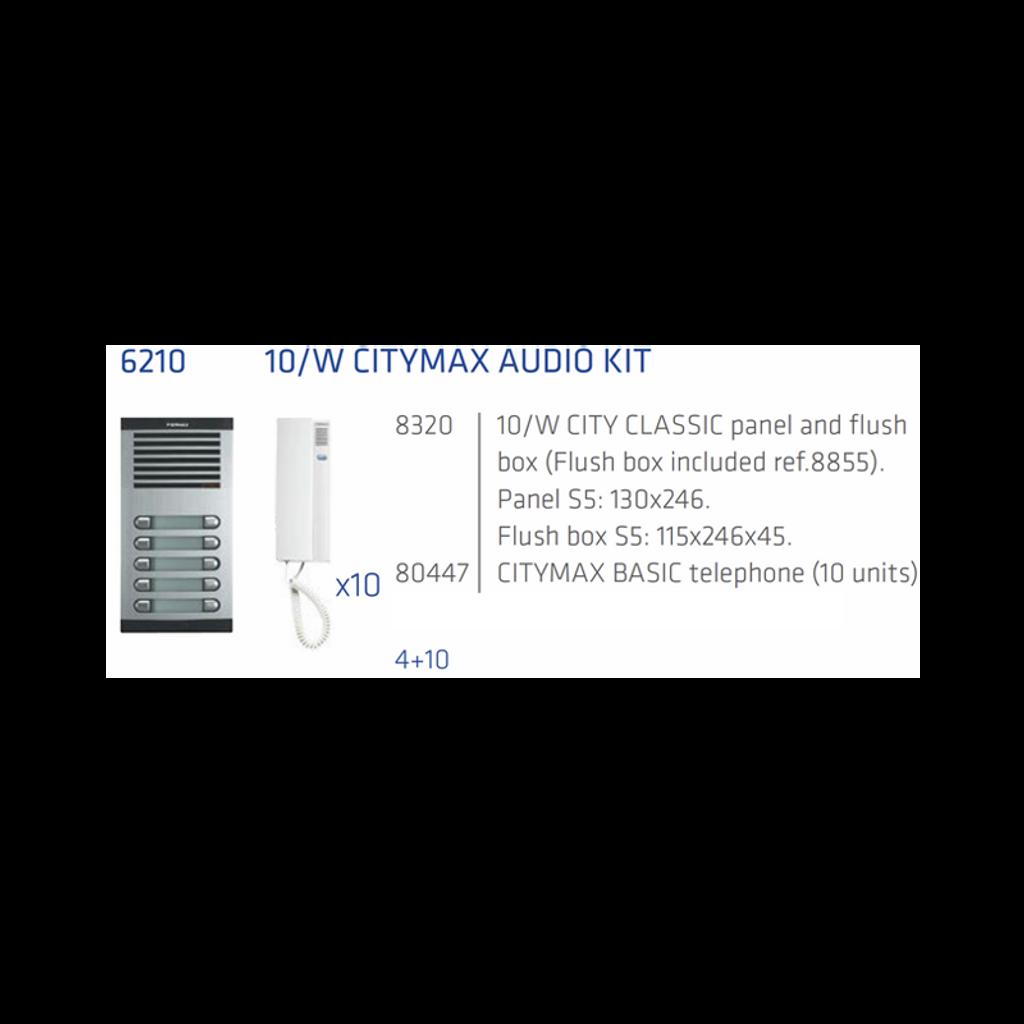 KIT 10 Apts 4+N audio