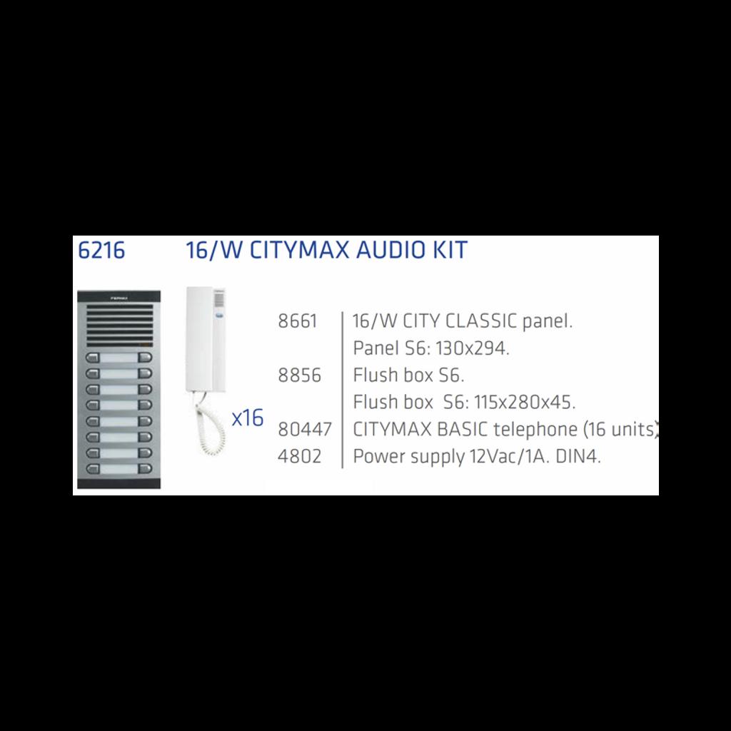 Kit 16 Apts 4+N Audio
