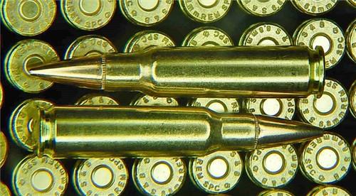 100 Rounds 6.8 SPC 110gr BTHP Thunder Ammo