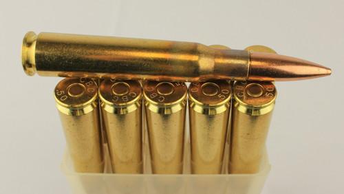 50 BMG 690gr Ball CBC Brass 10 Rounds