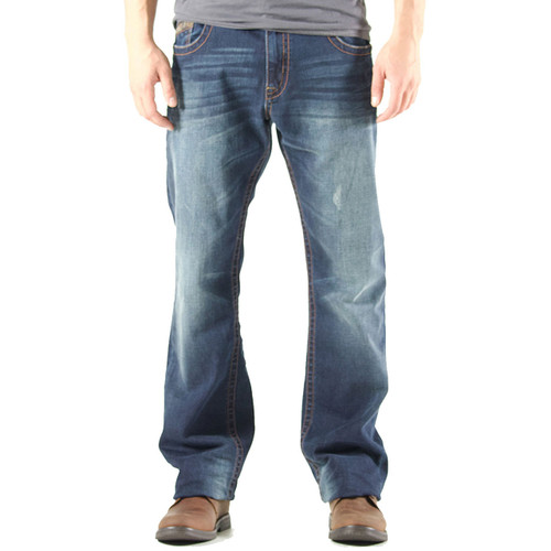Realtree Accented Boot Cut Jeans Front Image