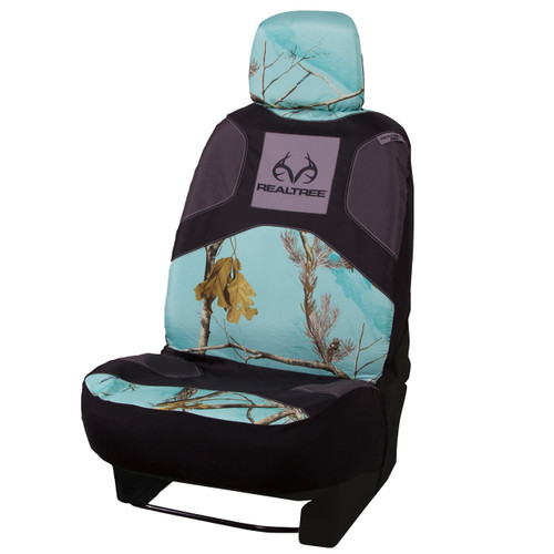 Realtree Mint Camo Low Back Bucket Seat Cover Realtree Mint Camo Seat Covers