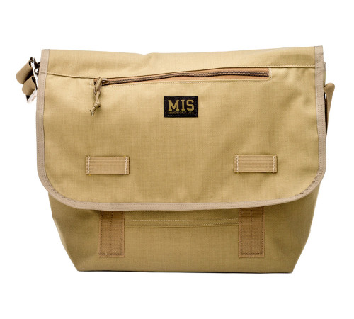 Messenger Bag - Coyote Tan - Front
