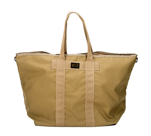 Super Tote Bag - Coyote Tan - Front