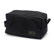 Mesh Toiletry Bag - Black - Front