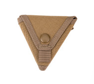Coin Case - Coyote Brown - Closed