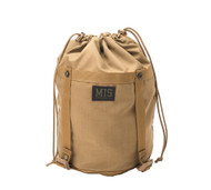 Compression Stuff Sack Small - Coyote Brown - Front Close