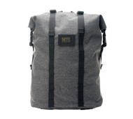 Roll Up Backpack - Denim Grey - Front