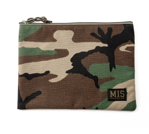 Tool Pouch M - Woodland Camo - Front