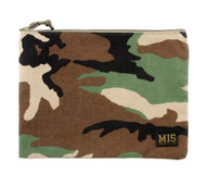Tool Pouch L - Woodland Camo - Front