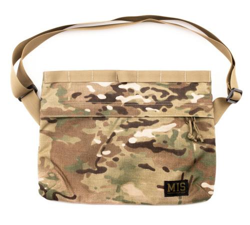 Padded Shoulder Bag - Multi Cam