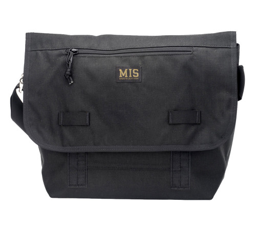 Messenger Bag - Black - Front