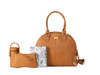 Isoki Madame Polly Changing Bag - Avalon with accessories