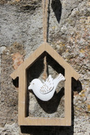 Square Bird House Hanger