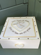 wooden angel box