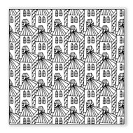 Begsonland Coloring House 02 Doodle Decal
