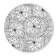 Begsonland Daisy Garden Doodle Decal
