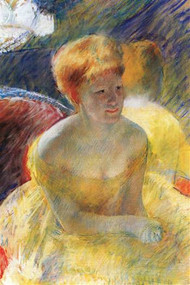 Lydia The Arms Rested in The Theater Loge by Mary Cassatt