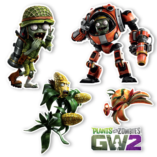 GW2 Special Launch Set: Five 4-6 inch wall graphics