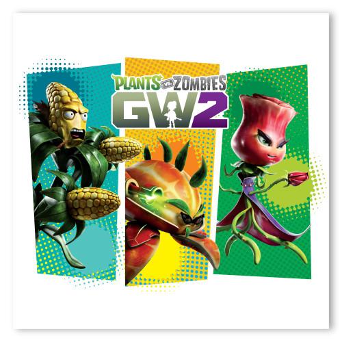 Plants vs. Zombies Garden Warfare 2: GW2 Kernel Corn + Citron + Rose ...