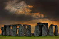 Within A Place Of A Stone Circle by David Scarbrough