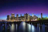 New York Sky Line by Nanouk el Gamal