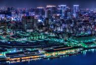 Tokyo at Night by Tomoshi Hara