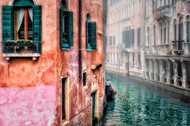 Colorful Venice Canal by Nora De Angelli