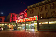 Pike Place Market by Alex Levine