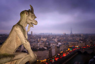 Gargoyle of Notre-Dame Cathedral, Paris by Karen McDonald