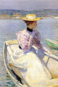 White Dory by Hassam