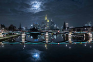 Frankfurt at Full Moon by Mike / Match-Photo
