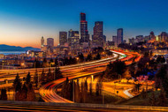 Seattle Sunset by Mike Centioli