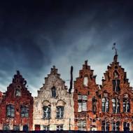 Bruges Reflection by Piet Flour