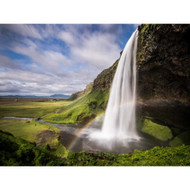 Seljalandsfoss Waterfall by Andreas Wonisch