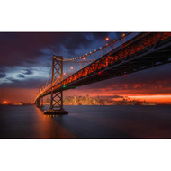 Fire over San Francisco by Toby Harriman