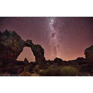 Night at the Wolfberg Arch by Gabriela Slegrova