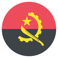 Emoji One Wall Icon Angola Flag