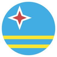 Emoji One Wall Icon Aruba Flag
