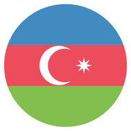 Emoji One Wall Icon Azerbaijan Flag