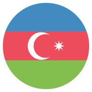 Emoji One Wall Icon Azerbaijan Flag